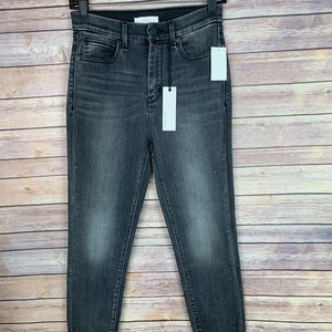 Habitual Gray Cressa High Rise Ankle Skinny Jeans